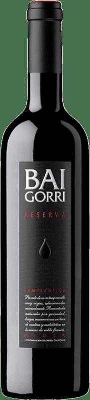17,95 € Free Shipping | Red wine Baigorri Reserva D.O.Ca. Rioja The Rioja Spain Tempranillo Bottle 75 cl