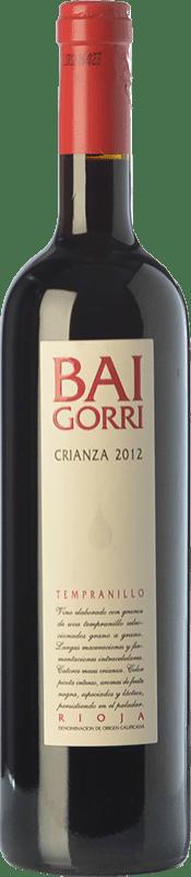 11,95 € Free Shipping | Red wine Baigorri Crianza D.O.Ca. Rioja The Rioja Spain Tempranillo Jéroboam Bottle-Double Magnum 3 L