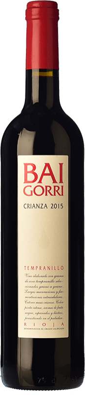 27,95 € Free Shipping | Red wine Baigorri Crianza D.O.Ca. Rioja The Rioja Spain Tempranillo Magnum Bottle 1,5 L