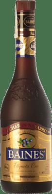 19,95 € Envío gratis | Pacharán Baines Oro Navarra España Botella 70 cl