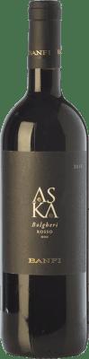 28,95 € Free Shipping | Red wine Castello Banfi Rosso Aska D.O.C. Bolgheri Tuscany Italy Cabernet Sauvignon, Cabernet Franc Bottle 75 cl
