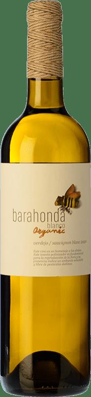 4,95 € Envoi gratuit | Vin blanc Barahonda Joven D.O. Yecla Région de Murcie Espagne Macabeo, Verdejo Bouteille 75 cl