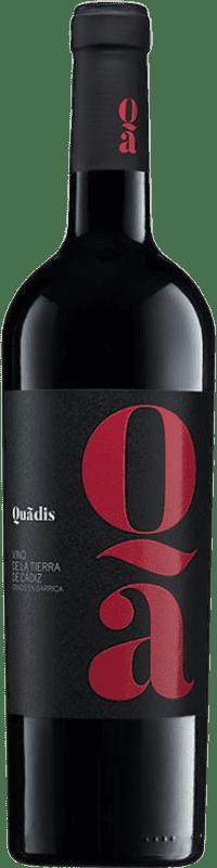 9,95 € Envoi gratuit   Vin rouge Barbadillo Quadis Crianza I.G.P. Vino de la Tierra de Cádiz Andalousie Espagne Tempranillo, Syrah, Petit Verdot, Tintilla de Rota Bouteille 75 cl