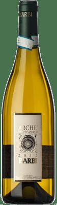 15,95 € Free Shipping | White wine Barbi Classico Archè D.O.C. Orvieto Umbria Italy Chardonnay, Sauvignon, Procanico, Grechetto Bottle 75 cl
