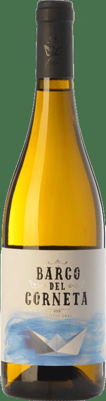 24,95 € Free Shipping | White wine Barco del Corneta Crianza I.G.P. Vino de la Tierra de Castilla y León Castilla y León Spain Verdejo Bottle 75 cl