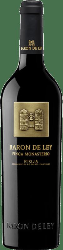 19,95 € Free Shipping | Red wine Barón de Ley Finca Monasterio Reserva D.O.Ca. Rioja The Rioja Spain Tempranillo Bottle 75 cl