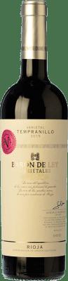 13,95 € Free Shipping | Red wine Barón de Ley Varietales Crianza D.O.Ca. Rioja The Rioja Spain Tempranillo Bottle 75 cl