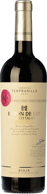 9,95 € Free Shipping | Red wine Barón de Ley Varietales Crianza D.O.Ca. Rioja The Rioja Spain Tempranillo Bottle 75 cl
