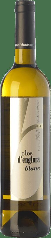 8,95 € Envío gratis | Vino blanco Baronia Clos d'Englora Blanc Crianza D.O. Montsant Cataluña España Garnacha Blanca, Viognier Botella 75 cl