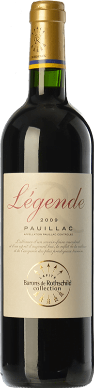 19,95 € Free Shipping | Red wine Barons de Rothschild Collection Légende Joven A.O.C. Pauillac Bordeaux France Merlot, Cabernet Sauvignon, Cabernet Franc Bottle 75 cl