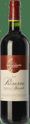 6,95 € Kostenloser Versand | Rotwein Barons de Rothschild Collection Réserve Spéciale Reserva A.O.C. Bordeaux Bordeaux Frankreich Merlot, Cabernet Sauvignon Flasche 75 cl