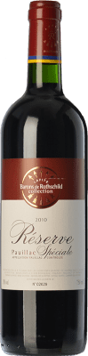 26,95 € Free Shipping | Red wine Barons de Rothschild Collection Réserve Spéciale Reserva A.O.C. Pauillac Bordeaux France Merlot, Cabernet Sauvignon Bottle 75 cl