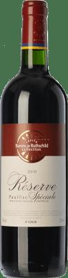21,95 € Kostenloser Versand | Rotwein Barons de Rothschild Collection Réserve Spéciale Reserva A.O.C. Pauillac Bordeaux Frankreich Merlot, Cabernet Sauvignon Flasche 75 cl