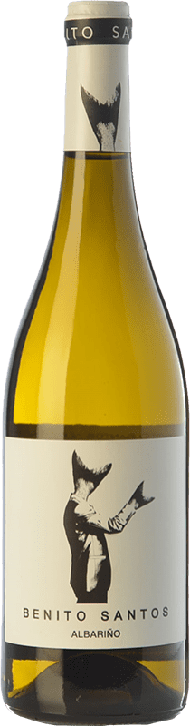 11,95 € Envoi gratuit | Vin blanc Benito Santos D.O. Rías Baixas Galice Espagne Albariño Bouteille 75 cl