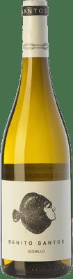 11,95 € Kostenloser Versand | Weißwein Benito Santos D.O. Monterrei Galizien Spanien Godello Flasche 75 cl