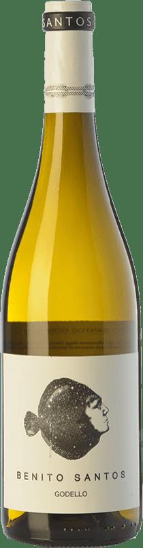 11,95 € Free Shipping | White wine Benito Santos D.O. Monterrei Galicia Spain Godello Bottle 75 cl