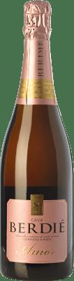 12,95 € Kostenloser Versand | Weißer Sekt Berdié Amor Brut Reserva D.O. Cava Katalonien Spanien Grenache, Macabeo, Xarel·lo, Parellada Flasche 75 cl