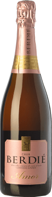 12,95 € Free Shipping | White sparkling Berdié Amor Brut Reserva D.O. Cava Catalonia Spain Grenache, Macabeo, Xarel·lo, Parellada Bottle 75 cl | Thousands of wine lovers trust us to get the best price guarantee, free shipping always and hassle-free shopping and returns.