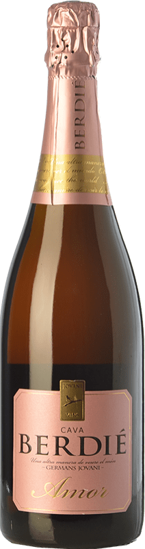 12,95 € Free Shipping   White sparkling Berdié Amor Brut Reserva D.O. Cava Catalonia Spain Grenache, Macabeo, Xarel·lo, Parellada Bottle 75 cl