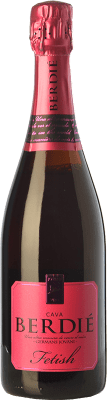 13,95 € Free Shipping | White sparkling Berdié Fetish Brut Reserva D.O. Cava Catalonia Spain Grenache, Monastrell Bottle 75 cl | Thousands of wine lovers trust us to get the best price guarantee, free shipping always and hassle-free shopping and returns.