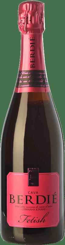 14,95 € Free Shipping   White sparkling Berdié Fetish Brut Reserva D.O. Cava Catalonia Spain Grenache, Monastrell Bottle 75 cl