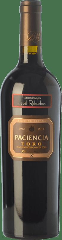25,95 € Envío gratis | Vino tinto Bernard Magrez Paciencia Crianza D.O. Toro Castilla y León España Tinta de Toro Botella 75 cl