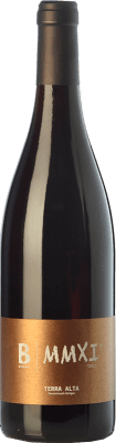 23,95 € Free Shipping | Red wine Bernaví MMXI Crianza D.O. Terra Alta Catalonia Spain Merlot, Grenache, Cabernet Sauvignon, Samsó Bottle 75 cl