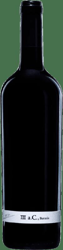 58,95 € Envío gratis | Vino tinto Beronia III A.C. Crianza D.O.Ca. Rioja La Rioja España Tempranillo, Graciano, Mazuelo Botella 75 cl