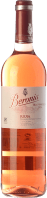 7,95 € Free Shipping | Rosé wine Beronia D.O.Ca. Rioja The Rioja Spain Tempranillo Bottle 75 cl