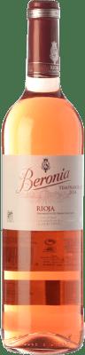 7,95 € Envoi gratuit | Vin rose Beronia D.O.Ca. Rioja La Rioja Espagne Tempranillo Bouteille 75 cl