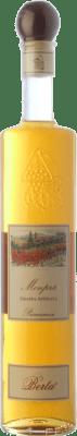 46,95 € Free Shipping | Grappa Berta Monprà Affinata Primaneve Piemonte Italy Bottle 70 cl