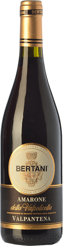 33,95 € Free Shipping | Red wine Bertani Valpantena D.O.C.G. Amarone della Valpolicella Veneto Italy Corvina, Rondinella Bottle 75 cl