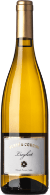 11,95 € Free Shipping | White wine Bertè & Cordini Lughet D.O.C. Oltrepò Pavese Lombardia Italy Chardonnay Bottle 75 cl | Thousands of wine lovers trust us to get the best price guarantee, free shipping always and hassle-free shopping and returns.