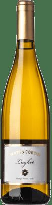 14,95 € Free Shipping | White wine Bertè & Cordini Lughet D.O.C. Oltrepò Pavese Lombardia Italy Chardonnay Bottle 75 cl