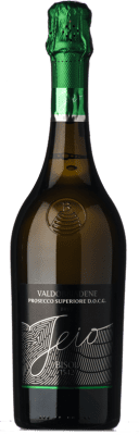 9,95 € Free Shipping | White sparkling Bisol Jeio Brut D.O.C.G. Prosecco di Conegliano-Valdobbiadene Treviso Italy Chardonnay, Pinot White, Glera, Verdiso Bottle 75 cl. | Thousands of wine lovers trust us to get the best price guarantee, free shipping always and hassle-free shopping and returns.