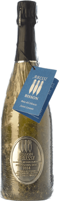 52,95 € Free Shipping | White sparkling Bisson Abissi Dosage Zero Riserva Reserva I.G.T. Portofino Liguria Italy Vermentino, Bianchetta Bottle 75 cl | Thousands of wine lovers trust us to get the best price guarantee, free shipping always and hassle-free shopping and returns.
