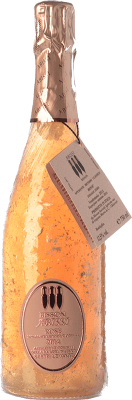 53,95 € Free Shipping | Rosé sparkling Bisson Abissi Rosé Dosage Zero I.G.T. Vino Spumante di Qualità Italy Ciliegiolo, Granazza Bottle 75 cl