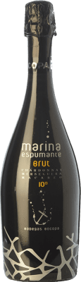 6,95 € Free Shipping | White sparkling Bocopa Marina Espumante Brut D.O. Alicante Valencian Community Spain Macabeo, Chardonnay, Merseguera Bottle 75 cl | Thousands of wine lovers trust us to get the best price guarantee, free shipping always and hassle-free shopping and returns.