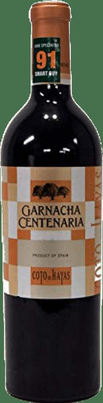12,95 € Envoi gratuit   Vin rouge Bodegas Aragonesas Coto de Hayas Centenaria Joven D.O. Campo de Borja Aragon Espagne Grenache Bouteille 75 cl