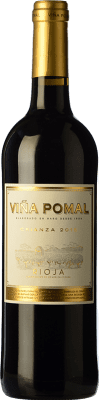 8,95 € Free Shipping | Red wine Bodegas Bilbaínas Viña Pomal Centenario Crianza D.O.Ca. Rioja The Rioja Spain Tempranillo Bottle 75 cl