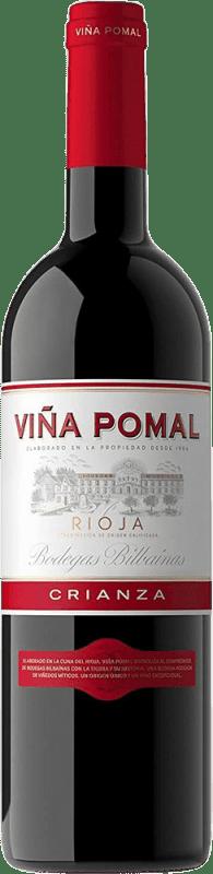 7,95 € Free Shipping | Red wine Bodegas Bilbaínas Viña Pomal Centenario Crianza D.O.Ca. Rioja The Rioja Spain Tempranillo Bottle 75 cl