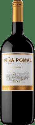 14,95 € Free Shipping | Red wine Bodegas Bilbaínas Viña Pomal Centenario Crianza D.O.Ca. Rioja The Rioja Spain Tempranillo Magnum Bottle 1,5 L