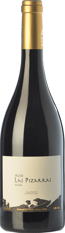 21,95 € Free Shipping | Red wine Bodegas del Jalón Alto las Pizarras Crianza D.O. Calatayud Aragon Spain Grenache Bottle 75 cl