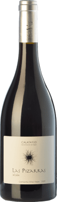 13,95 € Free Shipping | Red wine Bodegas del Jalón Las Pizarras Joven D.O. Calatayud Aragon Spain Grenache Bottle 75 cl