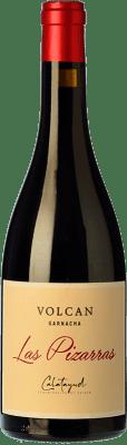 13,95 € Envío gratis | Vino tinto Bodegas del Jalón Las Pizarras Joven D.O. Calatayud Aragón España Garnacha Botella 75 cl
