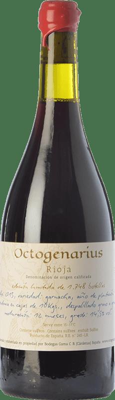 49,95 € Free Shipping | Red wine Gama Octogenarius Crianza D.O.Ca. Rioja The Rioja Spain Grenache Bottle 75 cl