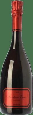 26,95 € Envío gratis | Espumoso blanco Hispano-Suizas Tantum Ergo Brut Nature Reserva D.O. Cava Cataluña España Pinot Negro Botella 75 cl