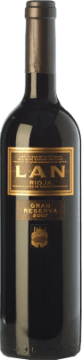 21,95 € Free Shipping | Red wine Lan Gran Reserva D.O.Ca. Rioja The Rioja Spain Tempranillo, Mazuelo Bottle 75 cl