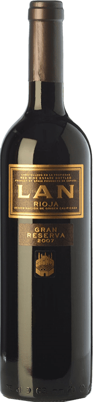 19,95 € Envoi gratuit | Vin rouge Lan Gran Reserva D.O.Ca. Rioja La Rioja Espagne Tempranillo, Mazuelo Bouteille 75 cl