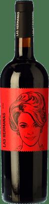 11,95 € Free Shipping | Red wine Luzón Las Hermanas Autor Crianza D.O. Jumilla Castilla la Mancha Spain Tempranillo, Cabernet Sauvignon, Monastrell Bottle 75 cl